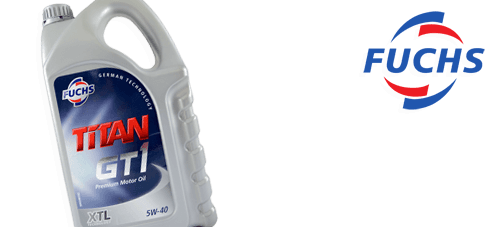 Fuchs Titan GT1 XTL 5w-40 - 5 Litres for only £25