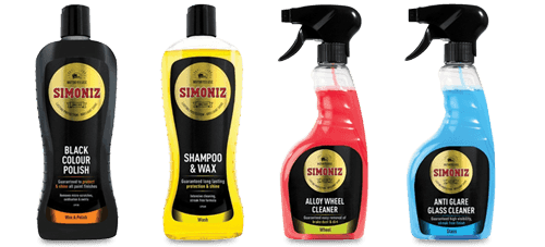 20% Off ALL Simoniz Products - Voucher: SIMONIZ