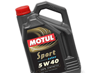 Motul Sport 5w-40 Fully Synthetic Engine Oil - New At Opie Oils