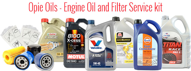Opie Oils Service kits from as little as £17.99 Oilfilterservicekit